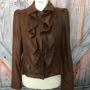 IBC International Concepts Faux Leather Jacket PM